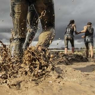 Obstacle runs: fun in de modder